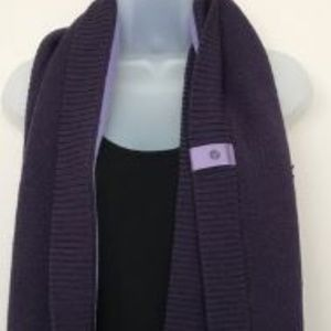 Lululemon Knit Merino Wool Infinity Scarf Purple